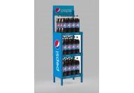 Пластмасов стелаж Pepsi